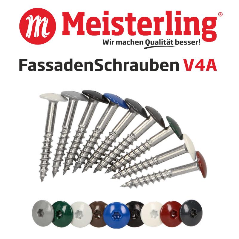 Meisterling® FassadenSchrauben V4A - 800x800 px