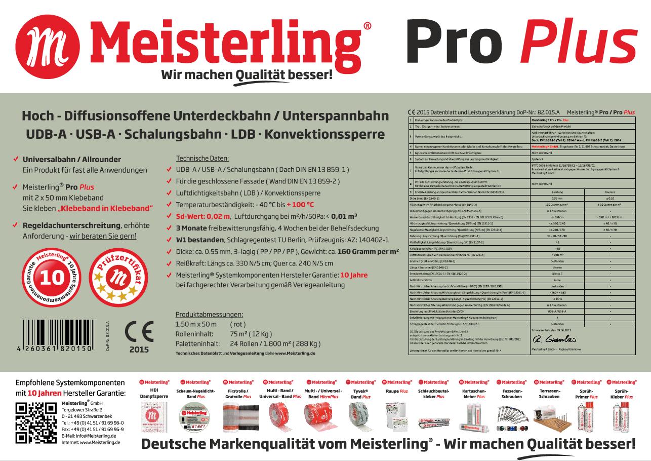 Meisterling® Pro Plus Rolleneinleger