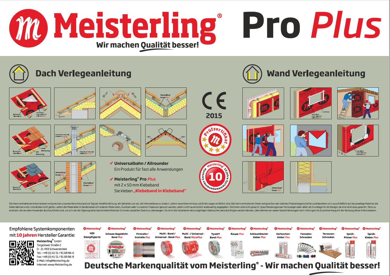 Meisterling® Pro Plus Verlegeanleitung
