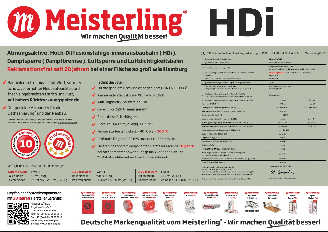 Meisterling® HDi Rolleneinleger