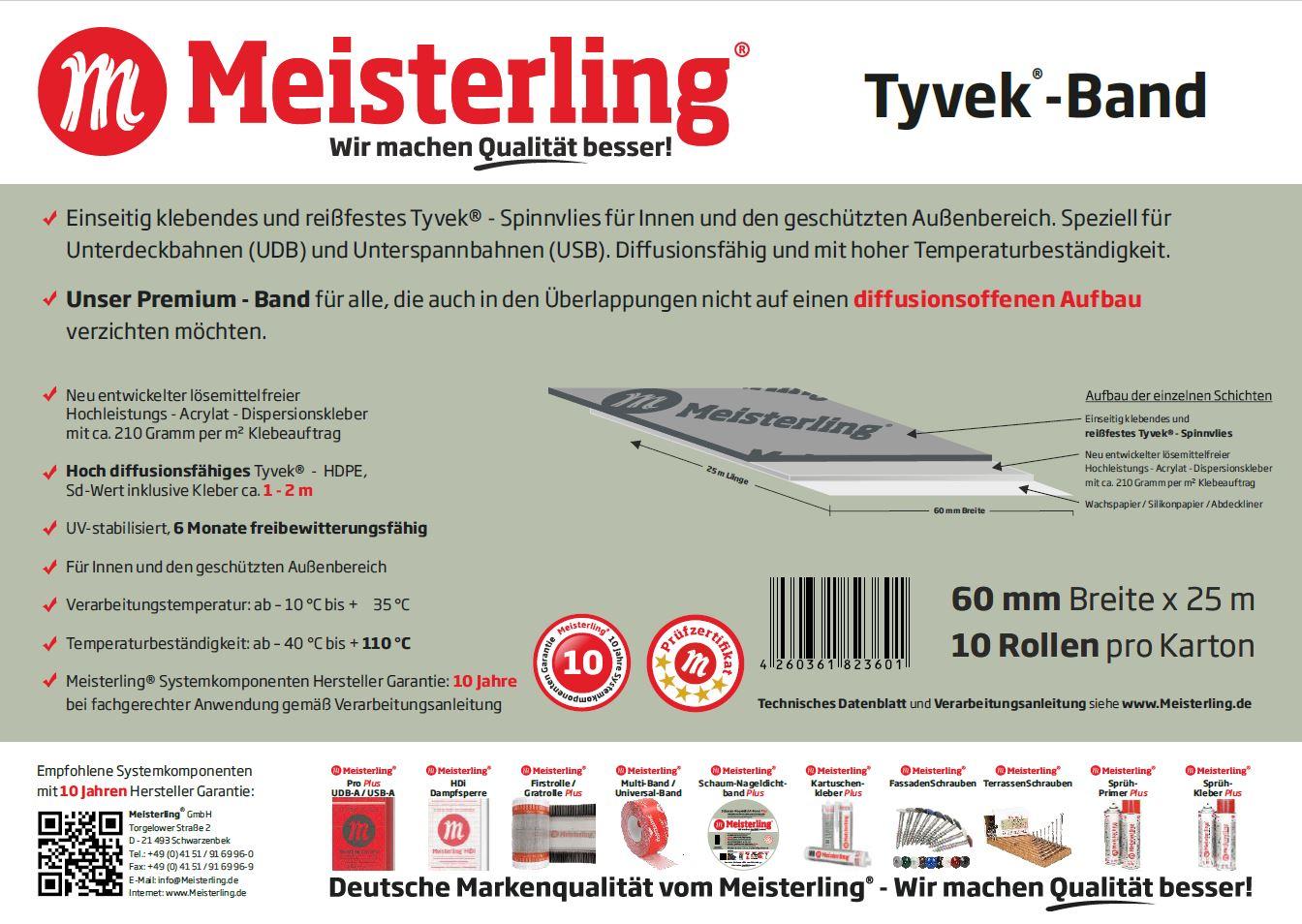 Meisterling® Tyvek® Band