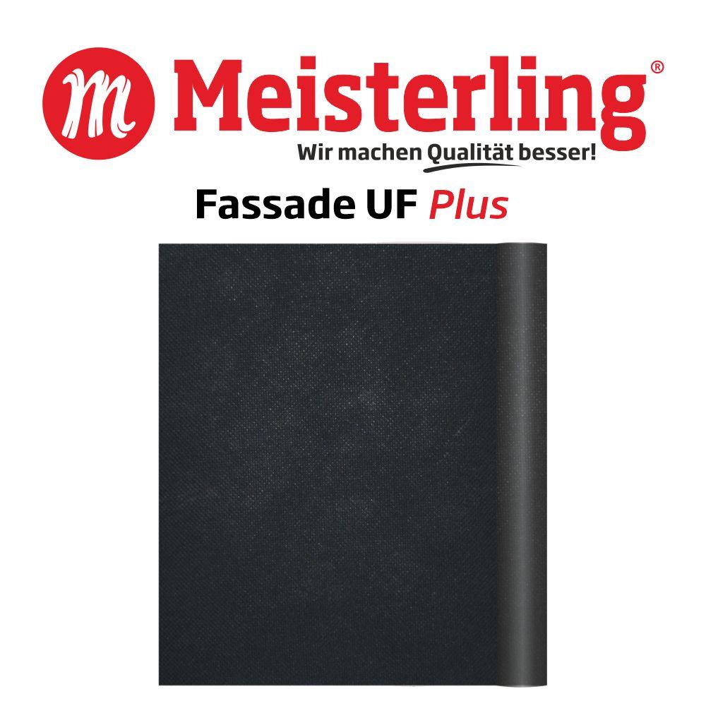 Meisterling Fassade UF PLUS mit Logo und Schrift 1000x1000
