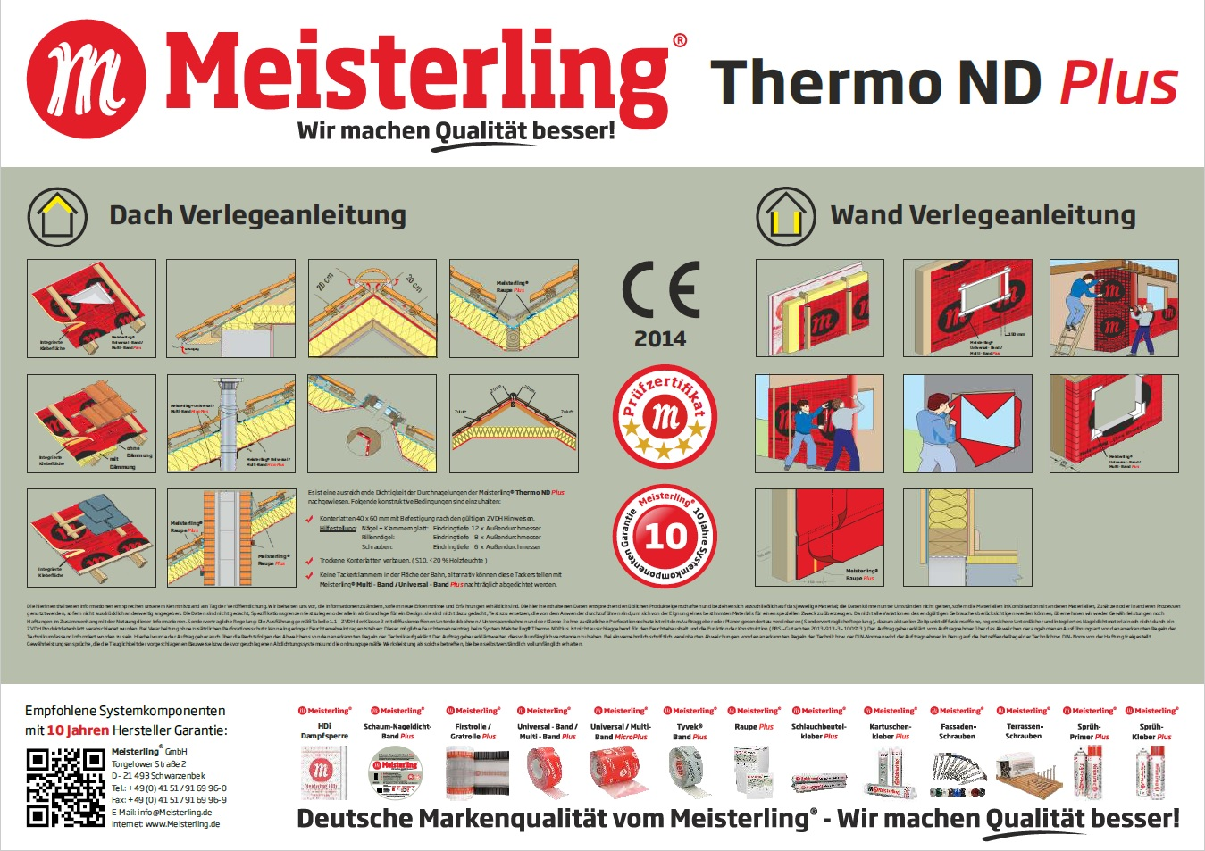 Meisterling Thermo ND PLUS Verlegeanleitung